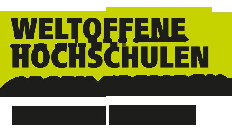 Weltoffene Hochschulen Logo
