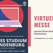 Virtuelle Messe: Dual Studieren im Land Brandenburg