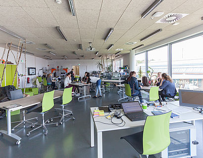 Laborsituation, Studierende im ViNN:Lab